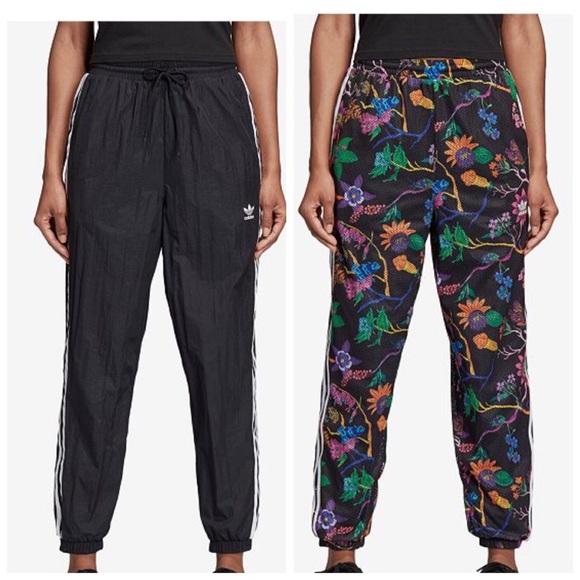 1dfeb7d7a3d adidas Pants | Poisonous Garden Black Reversible | Poshmark